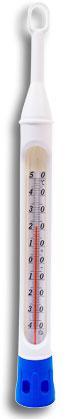 5134 - Termômetro para Refrigeração com proteção de plástico / -40+50:1°C / 220mm