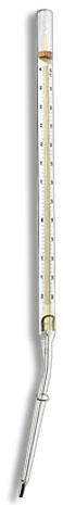 Termômetro Para Controle e Temperatura do Solo Escala -25+60:0,2°C - Haste 20mm - Comprimento 290mm