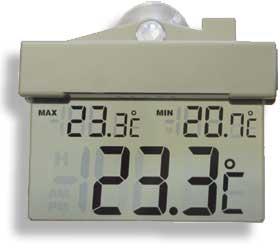 Termômetro Digital de janela