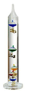 Termômetro Galileu Galilei Medição: 18ºC a 26ºC