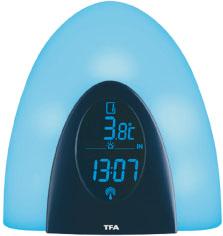 Termômetro com relógio Thermo Light Incoterm