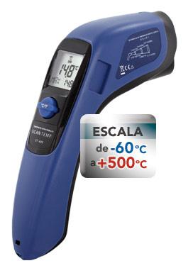 TERMÔMETRO DIGITAL INFRAVERMELHO  ST-600  -60+500°C Incoterm