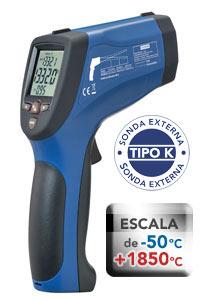 Termômetro Digital Infravermelho / -50+1850°C