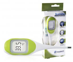 Termômetro Clínico Digital Verde  Jumbo Incoterm