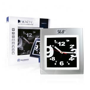 Balança Corporal Digital com Relógio Incoterm