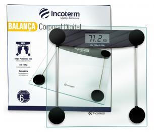 Balança Corporal Digital POP Incoterm