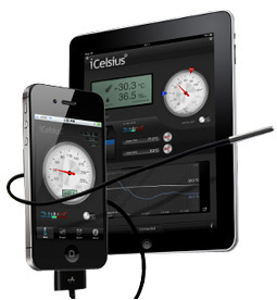 iCelsius - Sensor de Temperatura para iPad / iPhone / iPod Touch Ref. I-0100.00