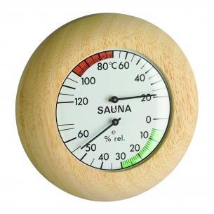 Termo-Higrômetro para Sauna Incoterm