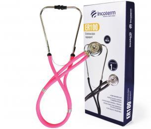 Estetoscópio Rappaport Pink ER100 Incoterm