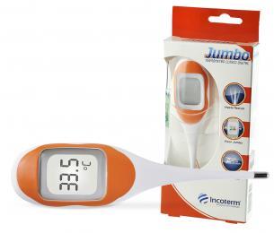 Termômetro Clínico Digital Laranja Jumbo Incoterm