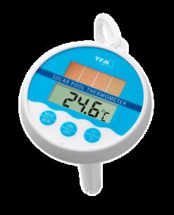 Termômetro Digital para Piscina com Painel Solar Incoterm