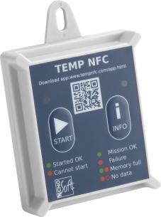 Data Logger  TEMPNFC RC – RIGID CASE Incoterm