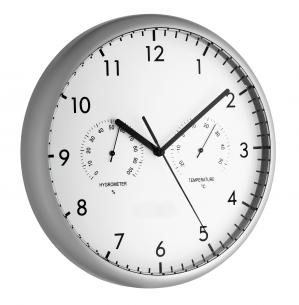 Relógio com Termo-Higrômetro Incoterm