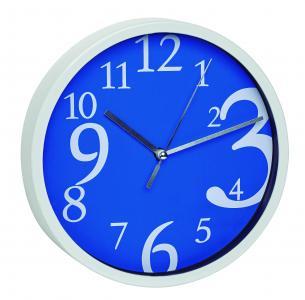 Relógio Design Azul Incoterm