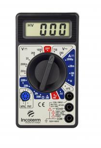 Multímetro Digital Incoterm MD-020