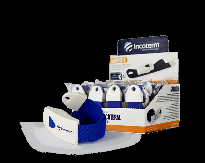 Caixa Garrote Azul com 16 unidades Incoterm
