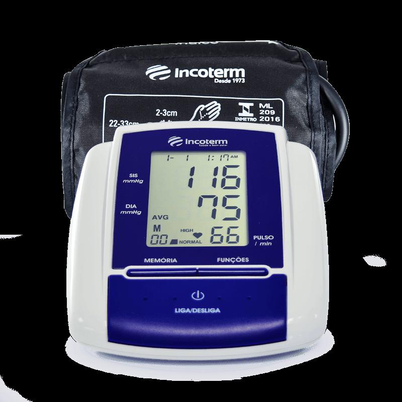 Medidor de Pressão Digital de Braço MB050 Incoterm