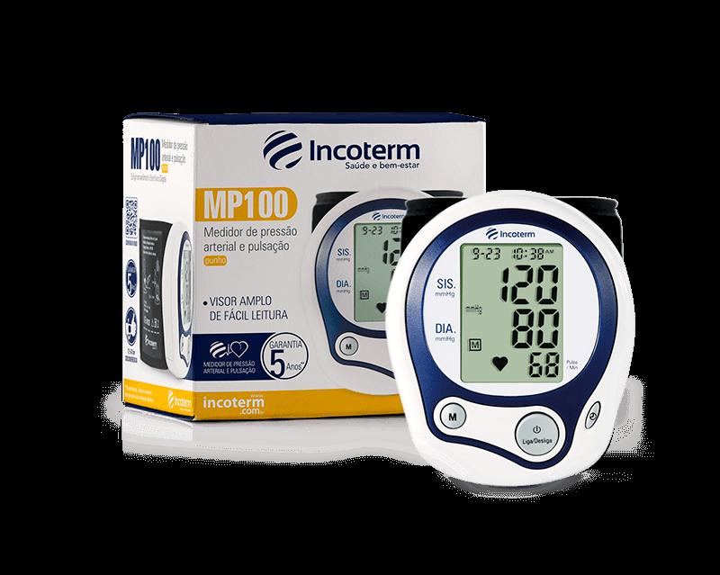 Medidor de Pressão Digital Pulso MP100 Incoterm