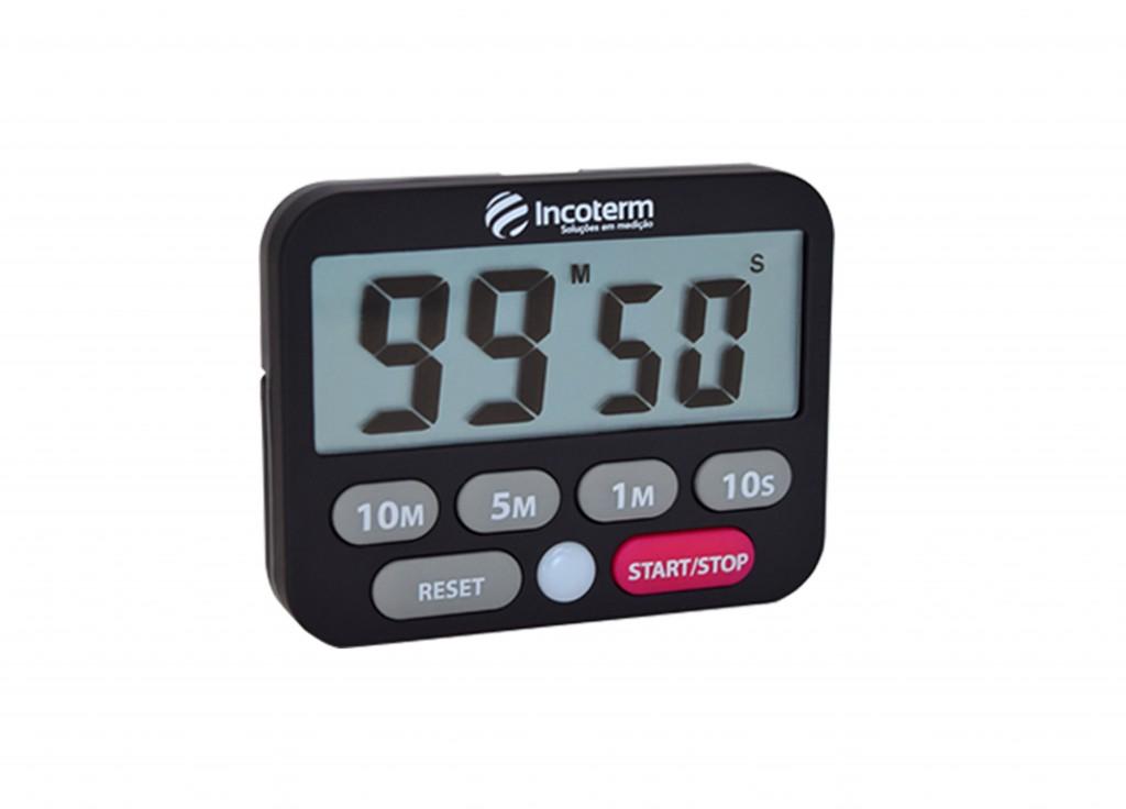 Timer Digital com Cronômetro Incoterm