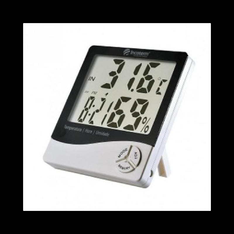 Termo-Higrômetro Digital Incoterm TH50 com Máxima e Mínima Incoterm