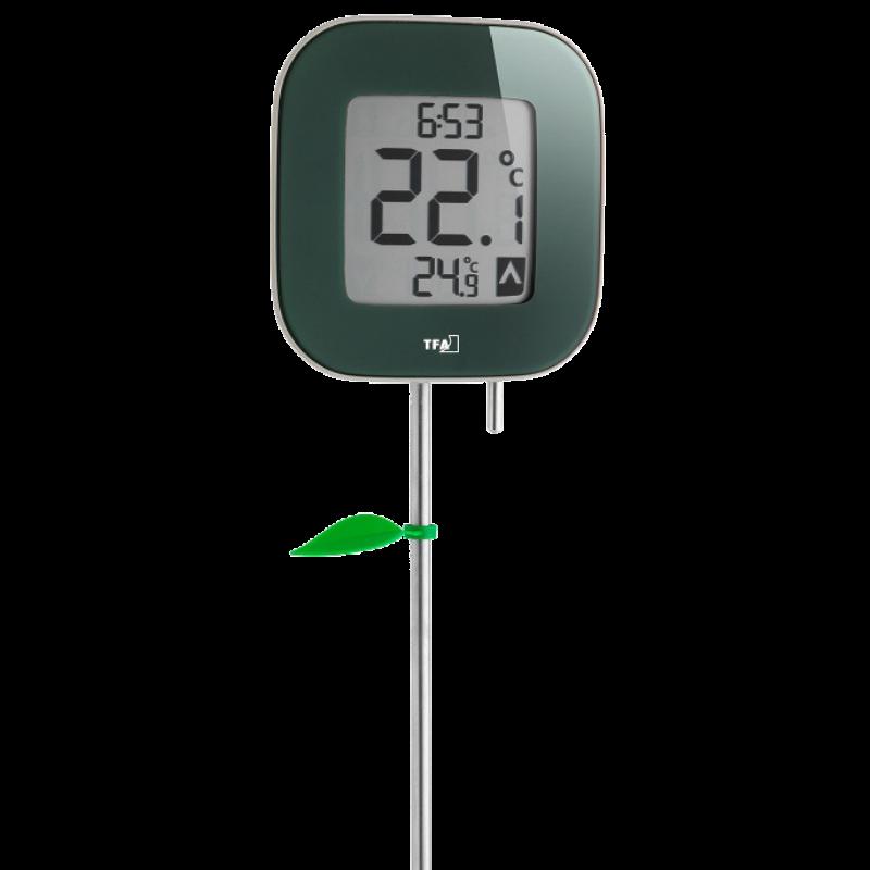 Termômetro Digital para Jardim FIORA Incoterm