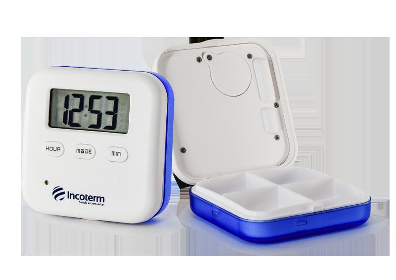 Porta Comprimidos com Alarme PCA 050 Incoterm