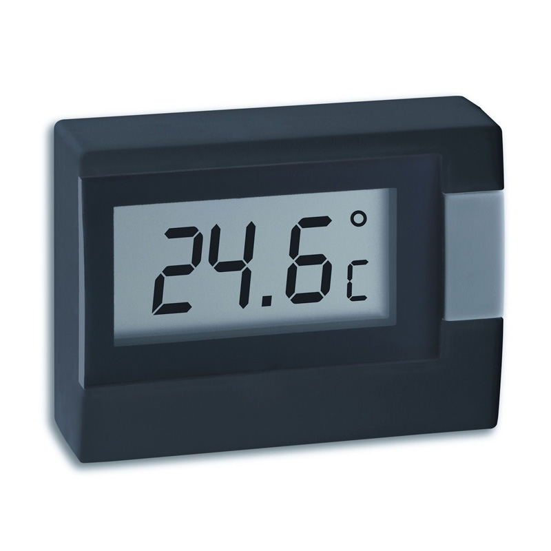 Termômetro Digital de Mesa PRETO Incoterm