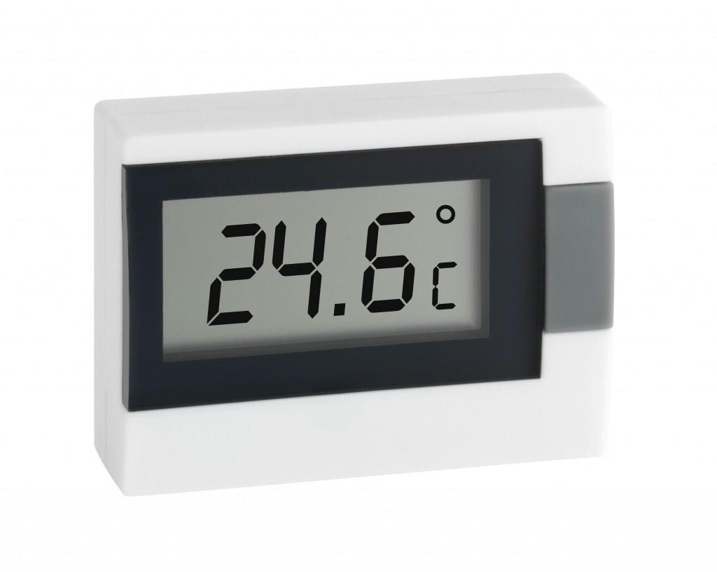 Termômetro Digital de Mesa BRANCO Incoterm